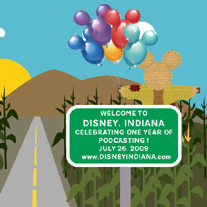 Disney Indiana Birthday Logo