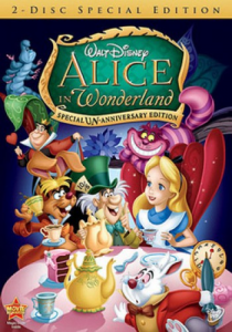 Alice in Wonderland 1951 DVD