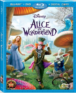 2010 Alice in Wonderland Blu-Ray