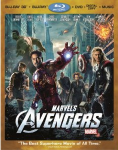 Four Disc Version of the Avengers Bluray