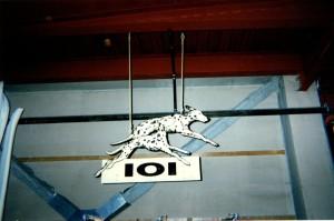 101Dalmatians-Overhead Sign